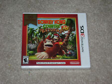 DONKEY KONG COUNTRY RETURNS...NINTENDO 3DS...**SEALED**BRAND NEW**!!!!!!