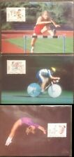 Liechtenstein 1996 Olympic Games Atlanta USA 100th  Max FDC PHQ Cards