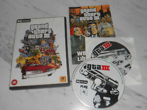 GRAND THEFT AUTO III Pc Cd Rom GTA 3 - Complete - FAST SAME DAY DISPATCH..