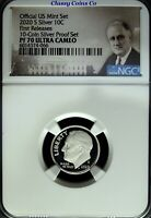 2020 S NGC PF 70 UCAM Silver Roosevelt Dime ☆☆ First Release ☆☆ .999 Fine Silver