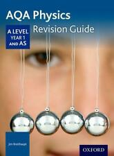 AQA A LEVEL PHYSICS Year 1 Revision Guide di Breithaupt, Jim libro tascabile