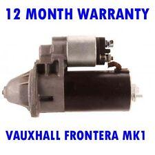 Fits VAUXHALL FRONTERA MK1 MK I 2.0 1992 1994 1995 - 1998 RMFD STARTER MOTOR