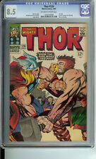Thor #126 CGC 8.5 OW/WP 1st issue, Thor vs Hercules