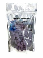 Oceans Wonders CERAMIC Coralline Purple Coral Frag Plugs 30 pack