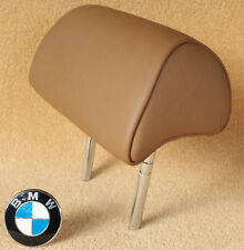 U6NB Natural Brown OEM BMW 7 Series E65 E66 2002-2008 Rear Headrest Leather Seat