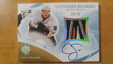 2010-11 UD Ultimate CAM FOWLER Rookie auto patch 25/35