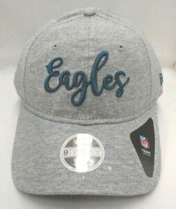 Philadelphia Eagles Women's New Era 9TWENTY Adjustable Cap Hat Gray Sparkle
