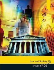 Law and Society by Steven Vago (2011, Paperback, Revised)