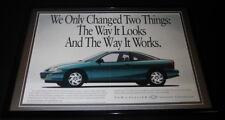 1994 Chevrolet Cavalier Framed ORIGINAL 12x18 Advertising Display