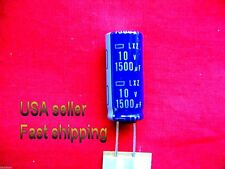 12 pcs  -  1500uf 10v   105c  low ESR  electrolytic capacitors