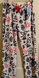 Womens Frozen Olaf Fleece Lounge Pants Disney Size large