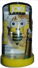 New listing Joie Bumble Bee Silicone Wine Bottle Topper - Cork Freshness Sealer Stopper