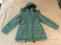 Land's End Women's Light Green Winter Coat Size XS 2-4 Petite Coat Heavy Jacket