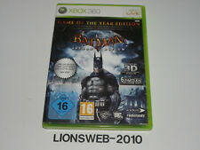 Xbox 360 juego-Batman Arkham Asylum #1699