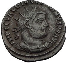 DIOCLETIAN Original 295AD Authentic Ancient Roman Coin JUPITER VICTORY i64055