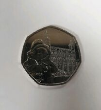 Brand New Uncirculated 2019 Paddington Bear Tower of London 50p Coin