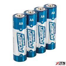 Powermaster 992118 AA Super Alkaline Battery LR6 4 Pack