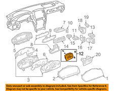 Lexus TOYOTA OEM LS430 Dash-Door Side Rear View Power Mirror Switch 8487050320C0
