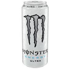 Monster Energy ULTRA WHITE 24x 500ml (12000ml) - Energie mit 0 Zucker 0 Kalorien
