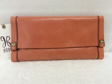 Hobo Bags Genuine Leather Fable Parchment Wallet Credit Card Retail $148