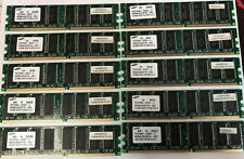 5GB [Lot of 10] Samsung 512MB PC2700 DDR333 184-pin DIMM M368L6423FTN-CB3