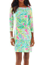 Lilly Pulitzer Sophie Dress Multi Tropical Storm  Upf 50+ Size L New