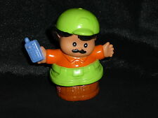 Fisher Price Little People Hispanic Zoo Keeper Radio