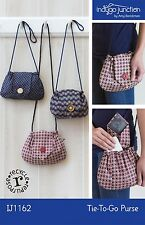 TIE-TO-GO PURSE SEWING PATTERN, From Indygo Junction NEW