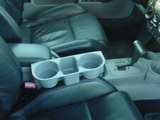 gray VW New Beetle double Cup & Cell Phone ipod Holder lighter no tool install