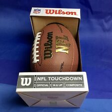 Wilson Nfl Touchdown Official Size Composite Football Model Wtpckf1695