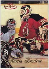 1998-99 TOPPS GOLD LABEL RED #10: MARTIN BRODEUR #27/50 NEW JERSEY DEVILS MINT !