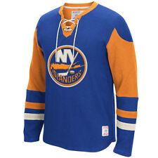 New York Islanders MENS CCM Long Sleeve Jersey Crew Pullover Sweatshirt