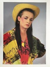 Boy George,Rare Authentic 1984 Poster
