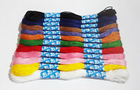 12 X Coloured Embroidery Thread Cotton Cross Stitch/Braiding/Craft Sewing UK