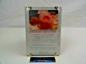 Paula 'Somebody Loves You' Decor Wall Hanging/ Tabletop Plaque