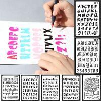 - karte wandmalerei buchstaben des alphabets schichtung schablonen - spray