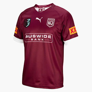 2021 Queensland Maroons State of Origin Home Rugby Shirt Jersey