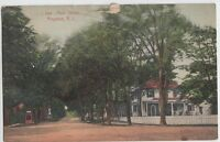 1911 KINGSTON Rhode Island R.I. Postcard Main Street Washington County