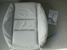 Nissan 876627Y76B Left Front Seat Back - Frost Gray Leather 2004-2006 Maxima OEM