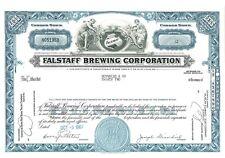 Stock Certificate of Falstaff Brewing Corporation