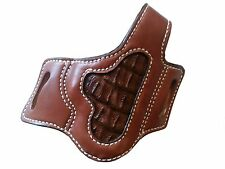 KIMBER SOLO OWB LEATHER HOLSTER EXOTIC INSET