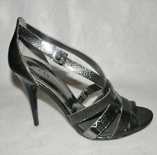GUESS by MARCIANO Women's Dress Sandals High Heel Pump Shoes Sz 8.5 M Gray