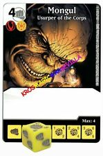 060 MONGUL Usurper of the Corps - Common - WAR OF LIGHT - DC Dice Masters