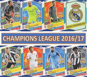 Topps Champions League Match Attax 2016 2017 16 17 Choose your card #1 - #198
