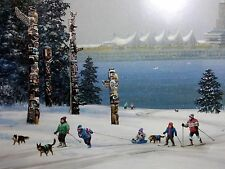 Alexander Chen - Vancouver Snowfall -  2010 Olympic POSTER