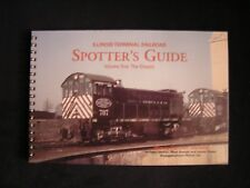 ILLINOIS TERMINAL RAILROAD SPOTTER'S GUIDE:  THE DIESELS locomotives, with CD