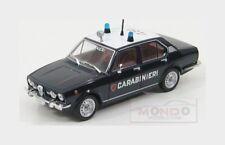 Alfa Romeo Alfetta Carabinieri 1972 Blue White Edicola 1:43 CARAB004