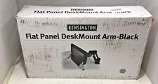 Kensington Flat Panel Desk Mount Monitor Arm Black Model K60106
