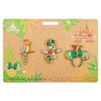 Minnie Mouse The Main Attraction Pin Set Enchanted Tiki Room Limited Release