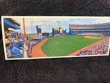"""""""LEFT FIELD CORNER""""-Bill Goff -1988-9"""" x 4"""" Pstcd-1987 game-Mets & Pirates-NM"""